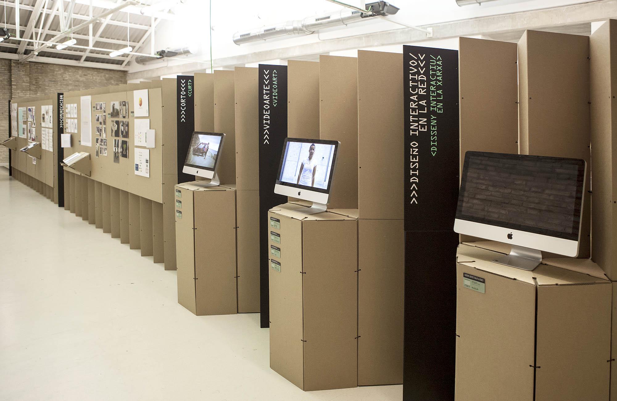 Expo proyectos de diseño premiados Certamen Valencia Crea 2012