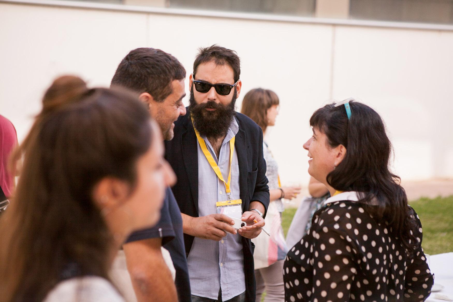 Rotulación y señalética para el Congreso Internacional de Ilustración, Arte y Cultura visual de la UPV Valencia
