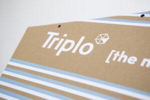 Triplo* personalizable impresión látex tintas naturales