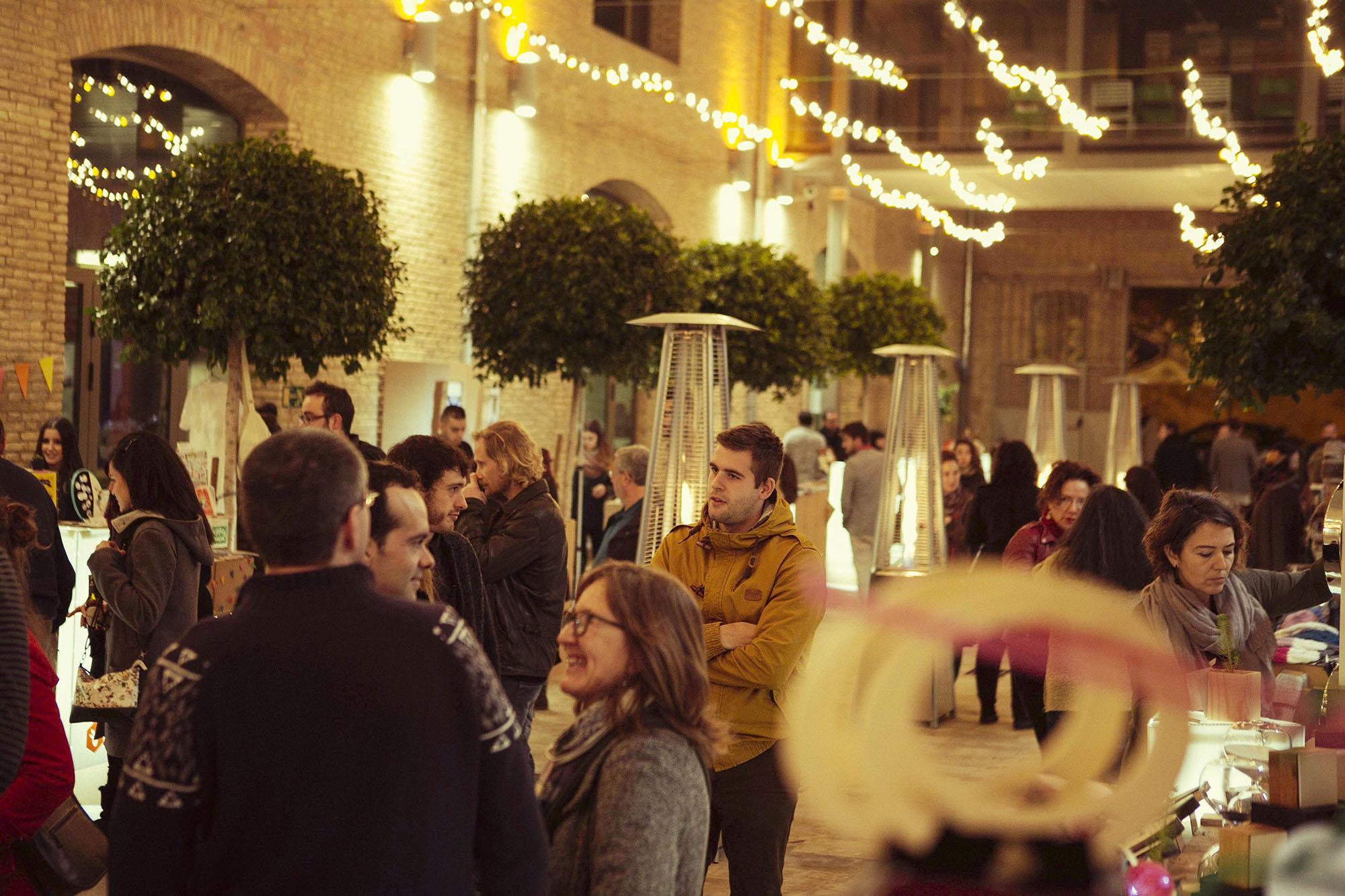 Diseño y montaje festival navidad Las Naves