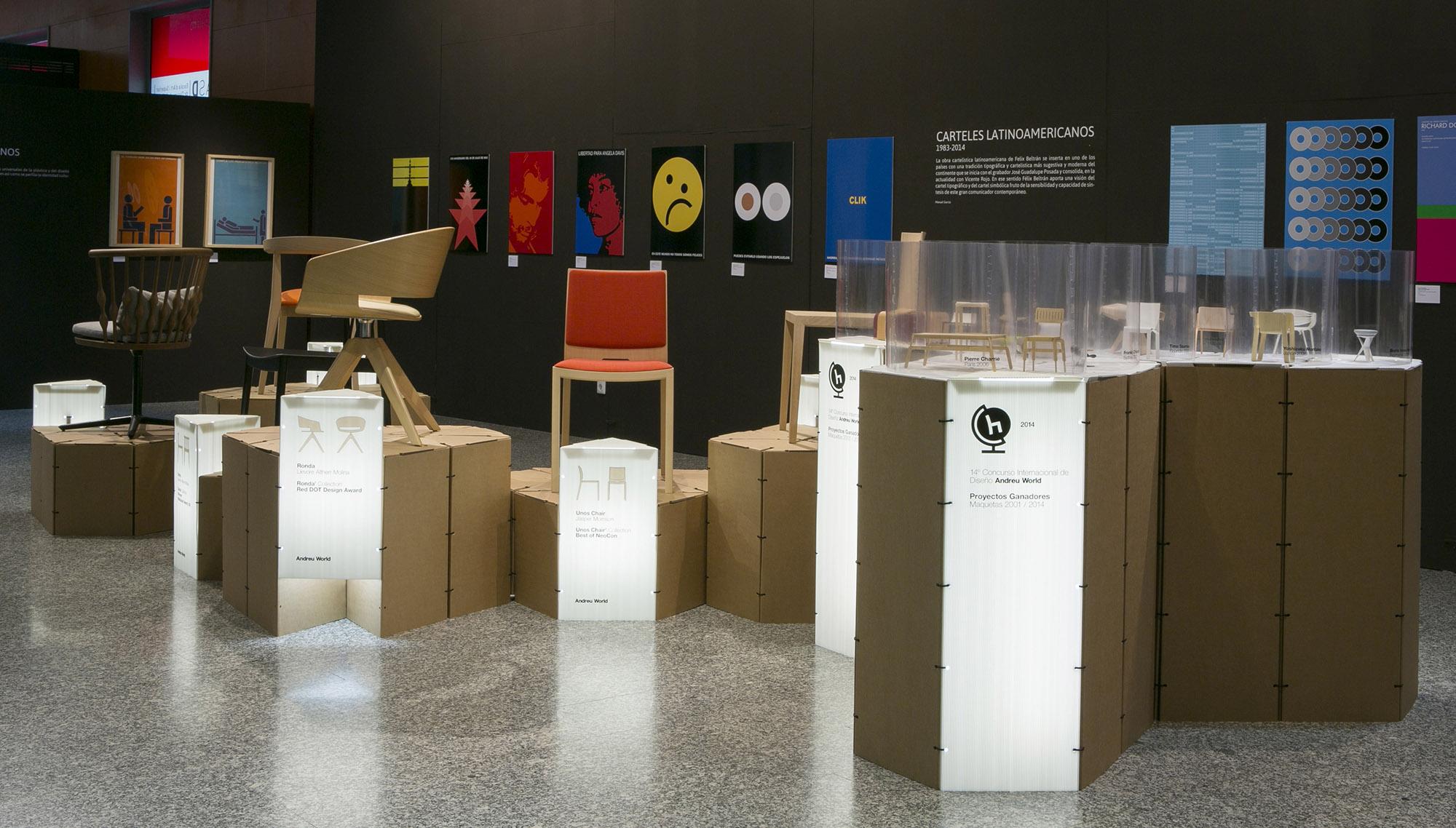 Exposición y entrega de Premios Internacionales de Diseño Andreu World 2014