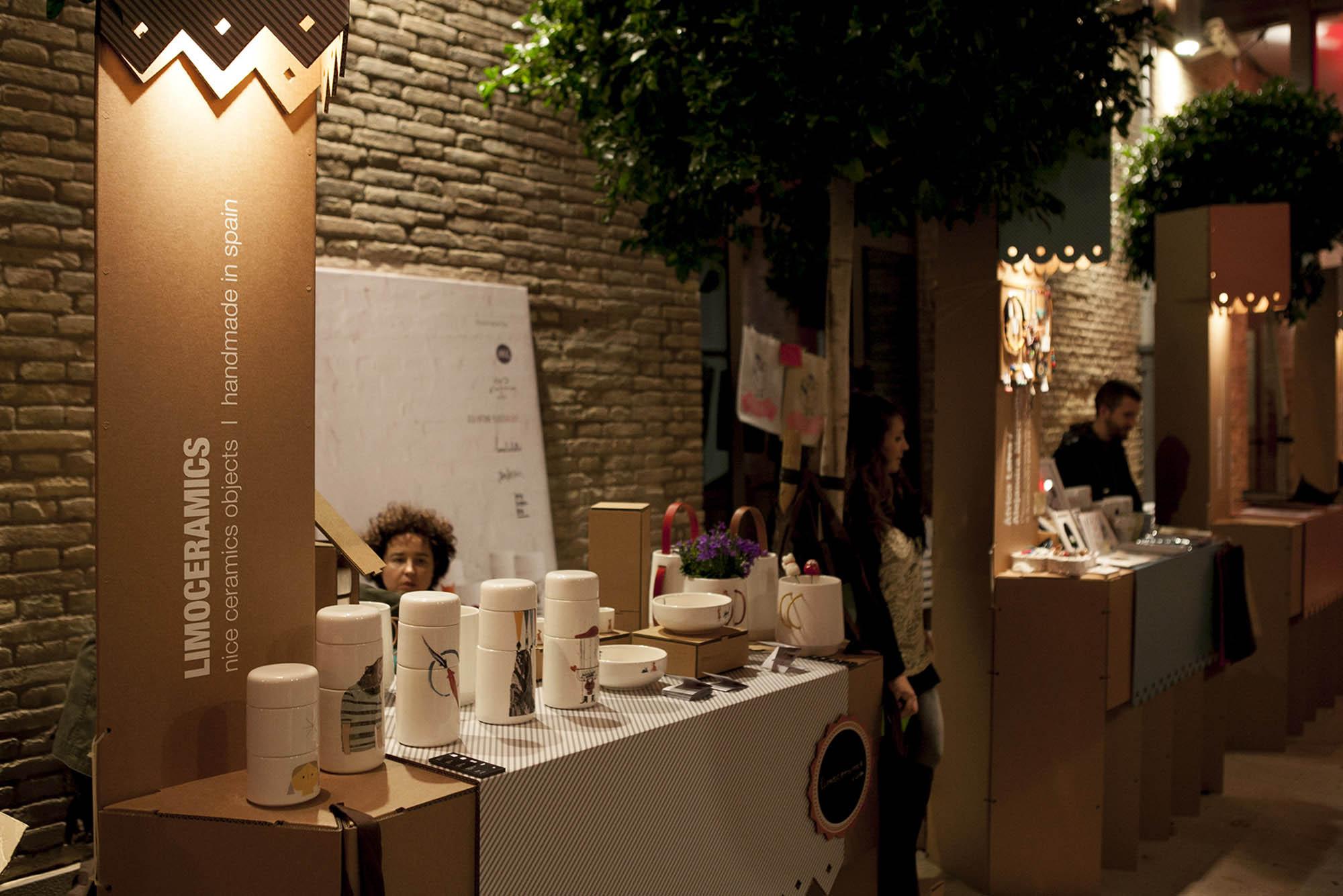 Festival Market de Navidad en Las Naves 2012