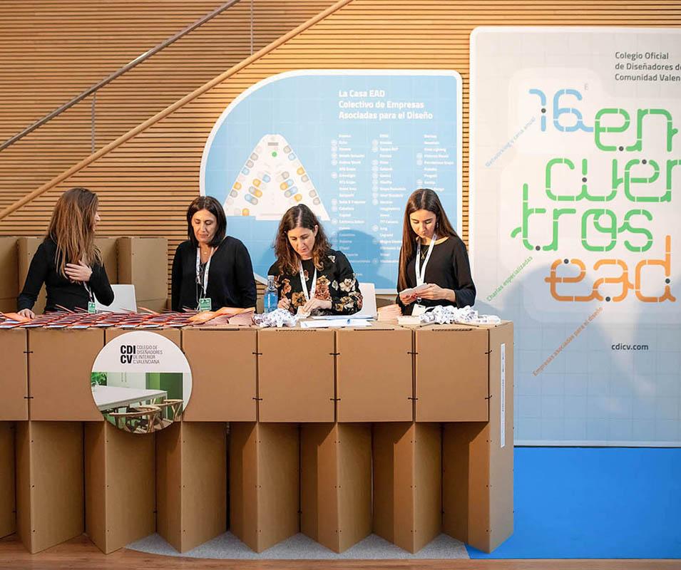 Evento congreso feria exposición empresas asociadas interiorismo diseño