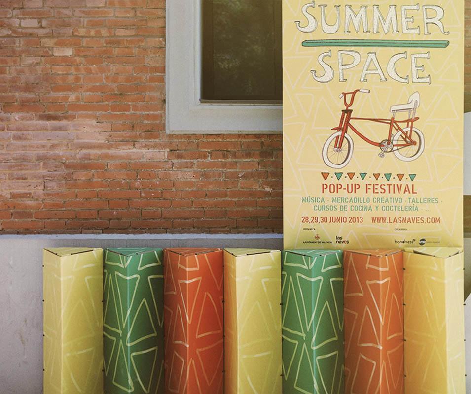 Festival market verano evento Las Naves Triplo* 2013